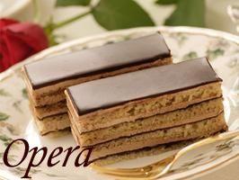 お取り寄せスイーツ★オペラ チョコレートケーキ★フル...